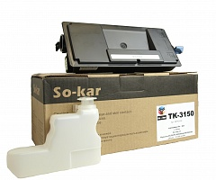 TK-3150 So-kar картридж для Kyocera с чипом 21000K